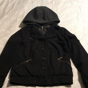 Black Charlotte Russe jacket, size small